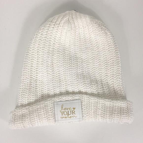 59d900d62 Love Your Melon White Fold On Beanie Winter Hat